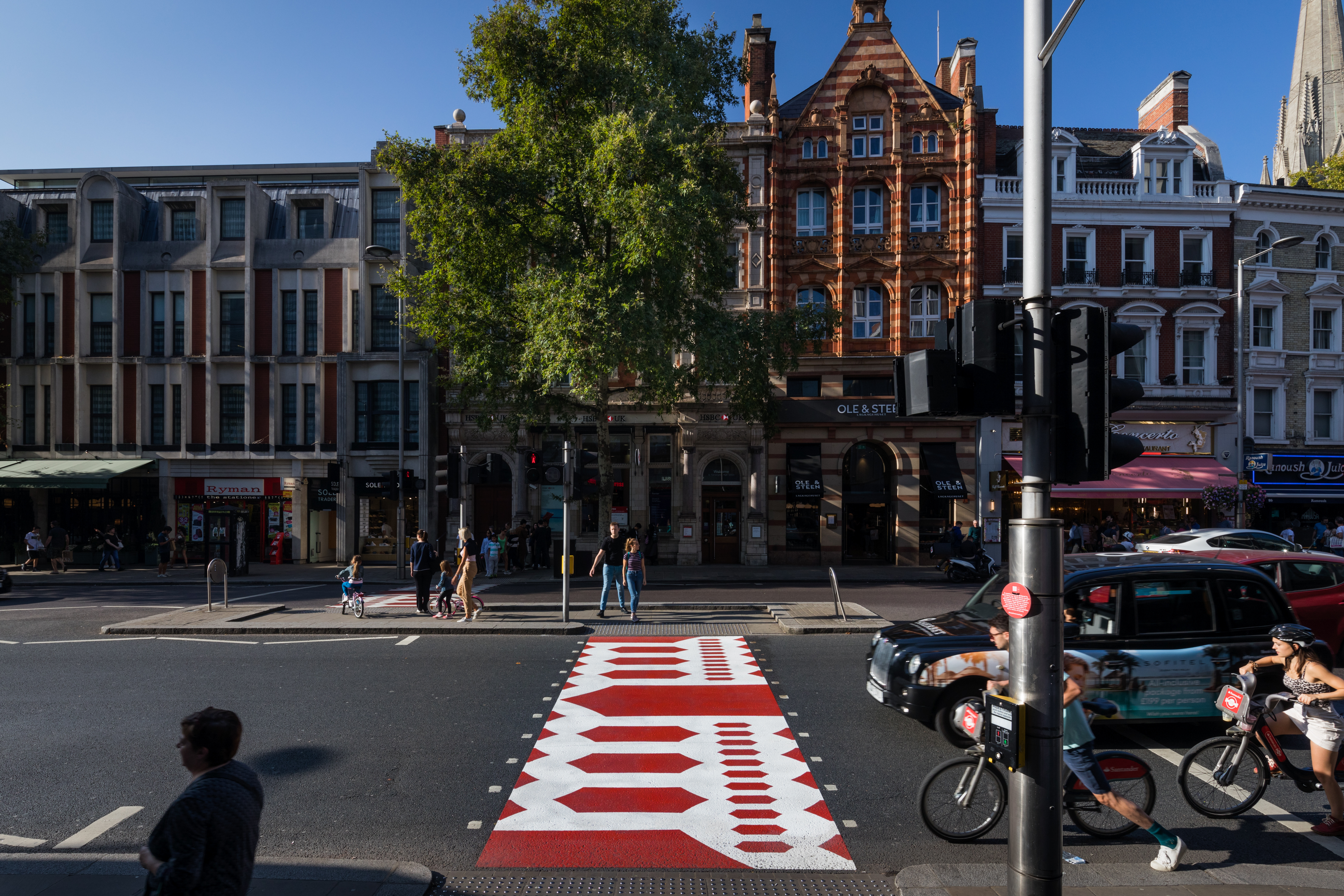 The Creative Crossing designed by Hara Kenya for Japan House London on Kensington High Street 26