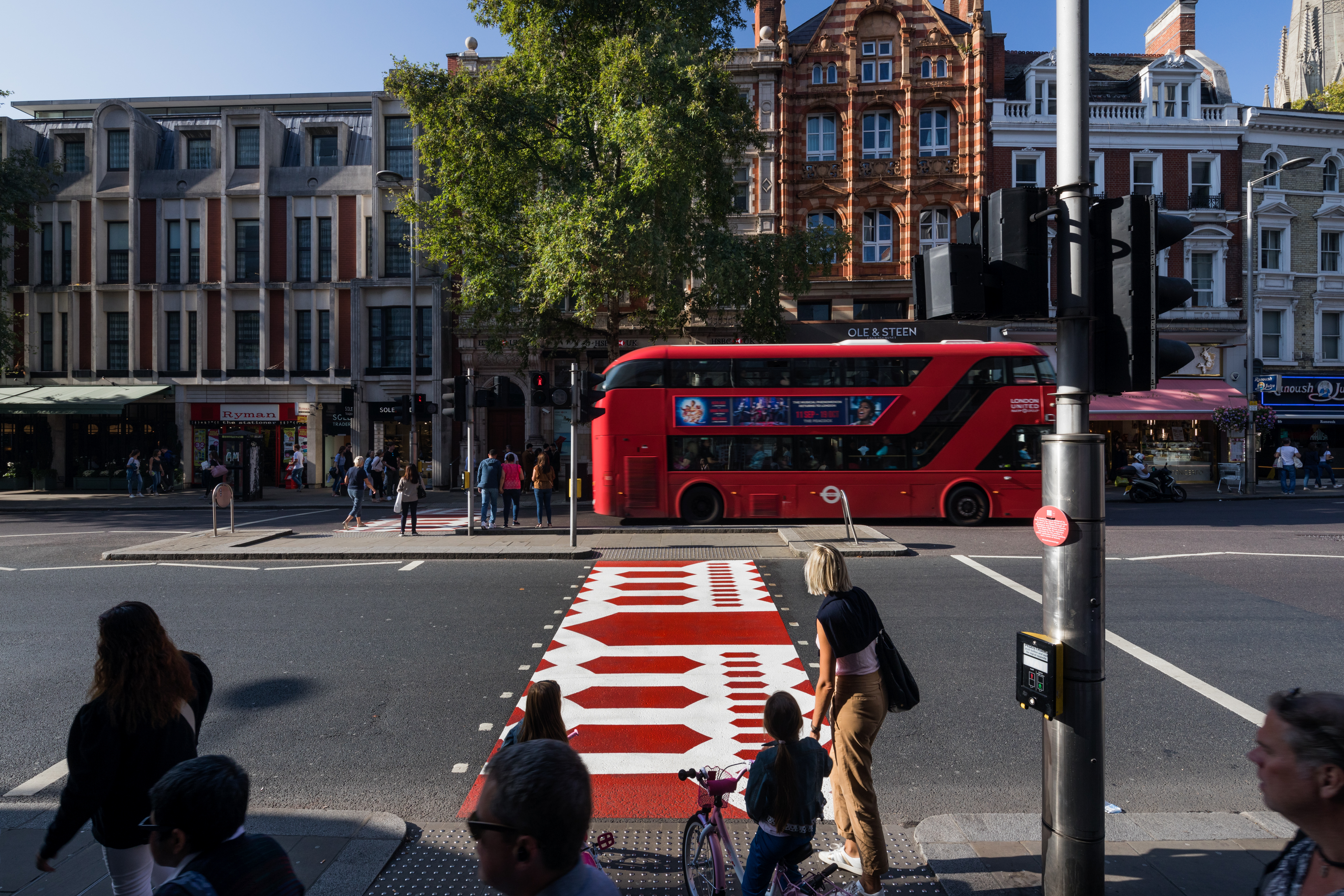 The Creative Crossing designed by Hara Kenya for Japan House London on Kensington High Street 3