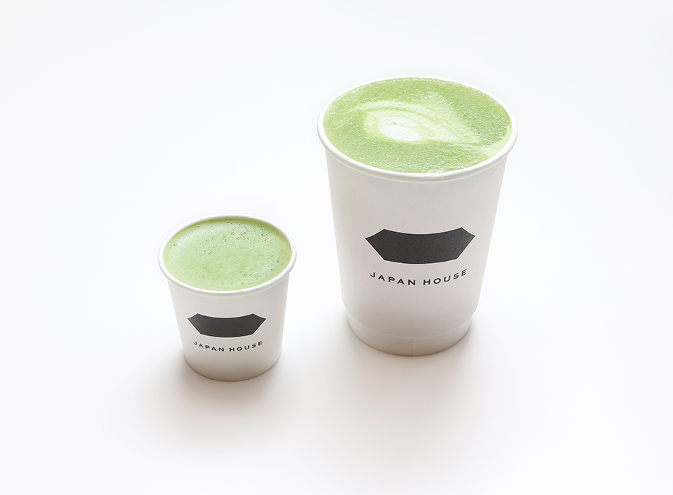 Matcha Latte at The Stand, Japan House London