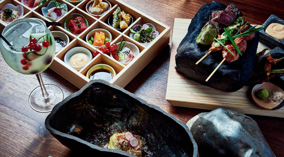 Robata and sushi at Akira Japan House London