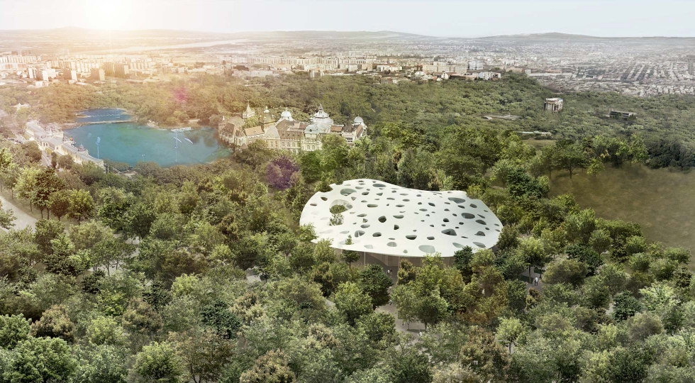 Forest of Music by Sou Fujimoto
