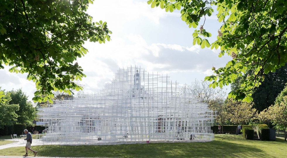 Serpentine Gallery Pavilion by Sou Fujimoto credit IWAN BAAN WEB ONLY