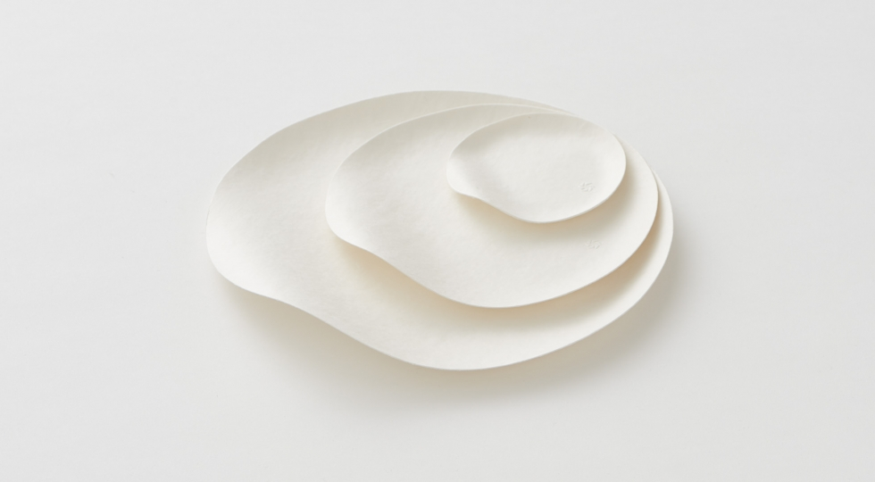 Japan House London - Paper tableware by WASARA
