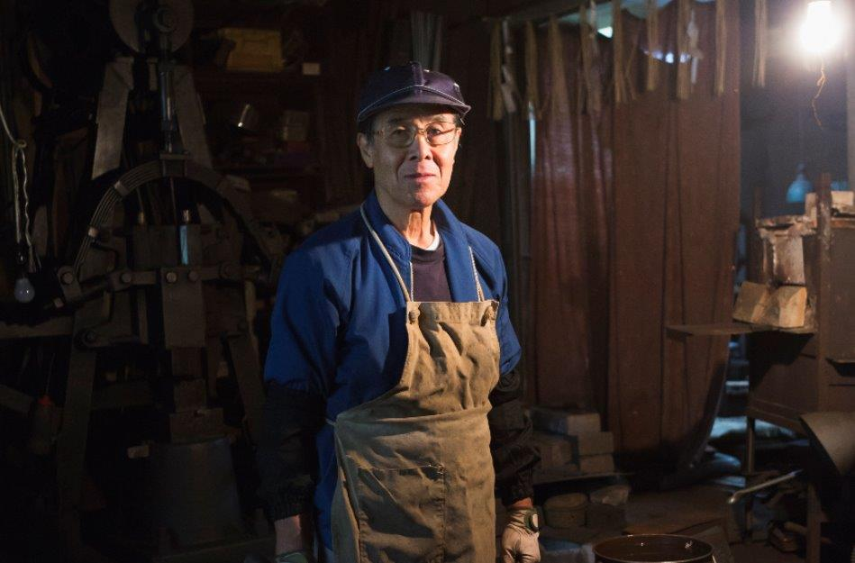 MIZUOCHI Ryoichi of Sanjo Seisakusho is the last Japanese razor craftsman in Japan