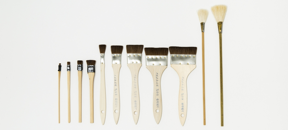 stationery full brushes
